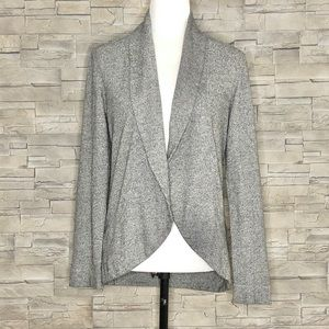 Jersey by Jacob grey open cardigan